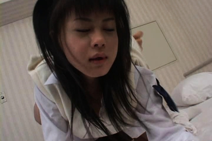 Konomi Futaba Asian girl is a beauty in school