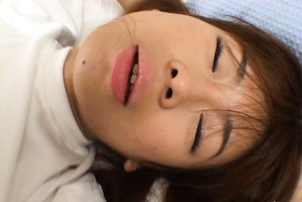 Ami Hinata is a sweet Japanese schoolgirl