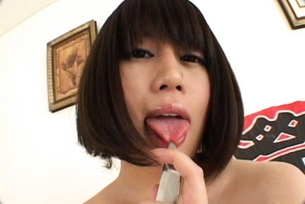 Arisa Yamano Japanese girl enjoys sex games