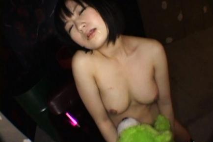 Hanabi Nanami hot Asian schoolgirl in sex game