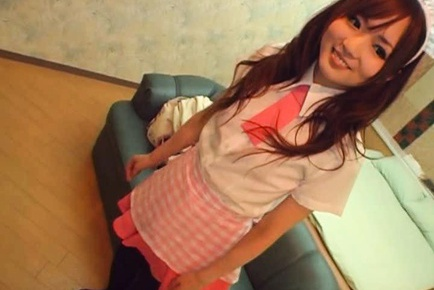 Yuu Asakura is a pretty and kinky Asian schoolgirl