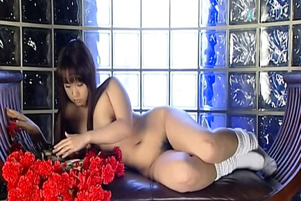Haruka Aida Lovely Asian schoolgirl is fond of masturbating