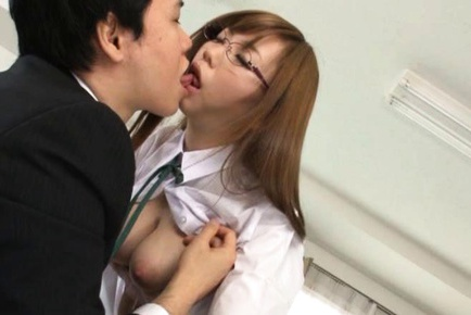 Mei Miura Sweet Japanese student enjoys sex