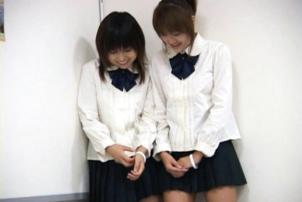 Seira Kinomoto and Yuri Shiina Hot Japanese lesbian girls