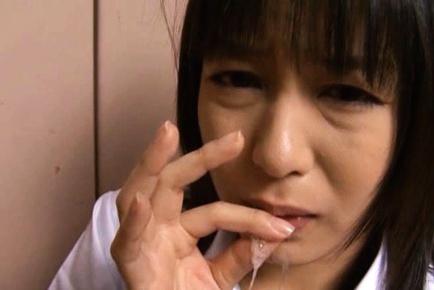 Nana Nanaumi Japanese schoolgirl gets fucked