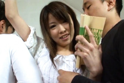 Miho Imamura Cute Asian schoolgirl