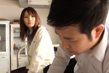 Hotaru Yukino enjoys being a hot Japanese schoolgirl