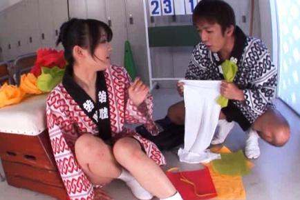 Shou Nishino Hot Asian girl shows her cute ass
