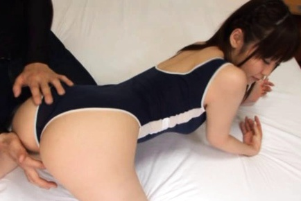Yuu Shinoda´s Tight Teen Pussy Makes Him Cum Hard