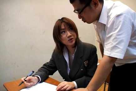 Ai Mizuno kinky schoogirl sex