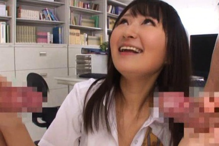 Teen Cock Sucker Ayumi Kurebayashi Swallows Two Loads