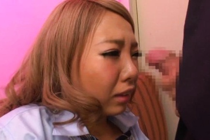 Large dick to please busty gal Chika Hitano